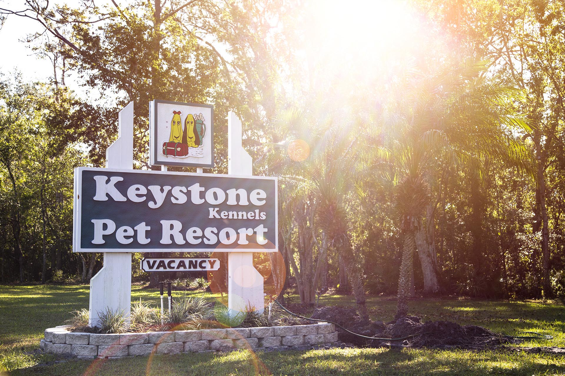 Keystone Kennels Sign